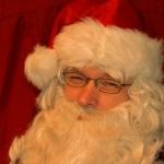 Auf Reise mit dem Weihnachtsmann